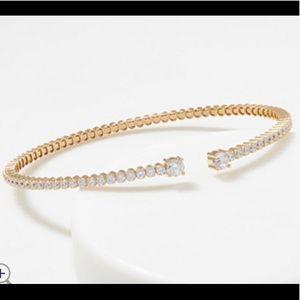 Jewelry - 14k clad SS Cuff Bracelet (one)
